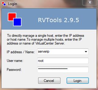RVTools Vmware Tools