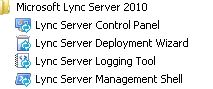 Stop All Lync Services And Start