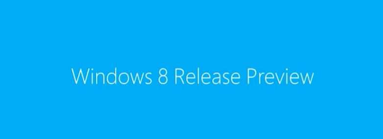 Windows 8 Release Preview Rc