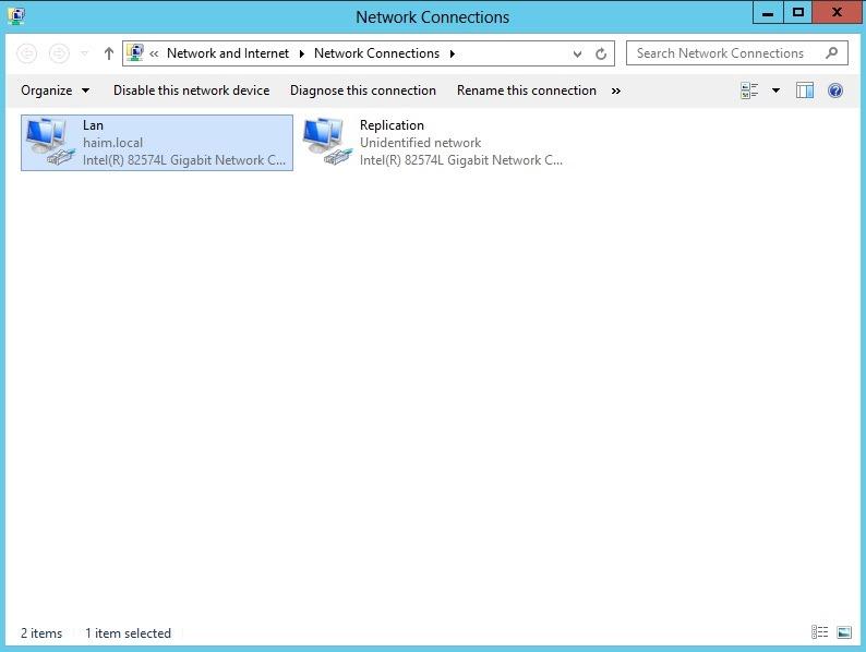 הגדרת והתקנת DAG בסביבת Exchange Server 2013