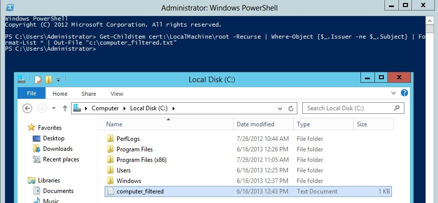 Lync Server 2013 Front-End service cannot start in Windows Server 2012