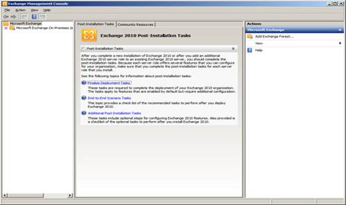 How to Setup Exchange Server 2010+AD windows 2008 R2