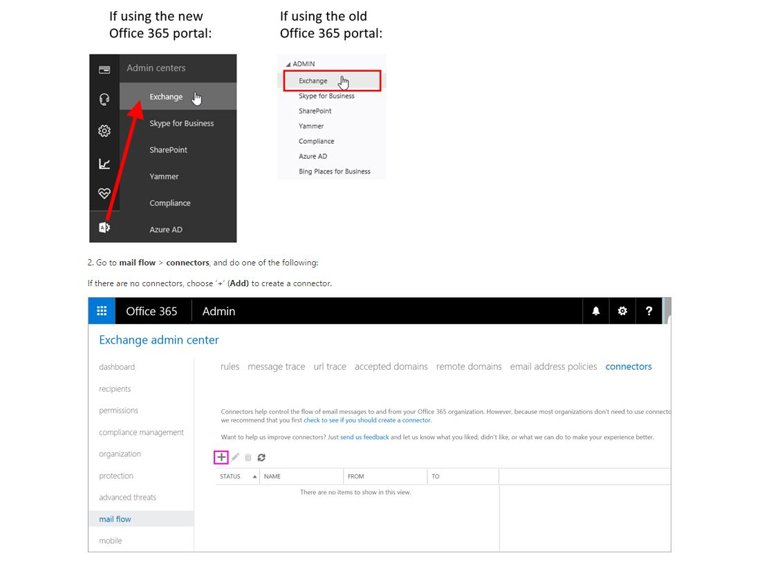 Important notice for Office 365 email customers who have configured connectors