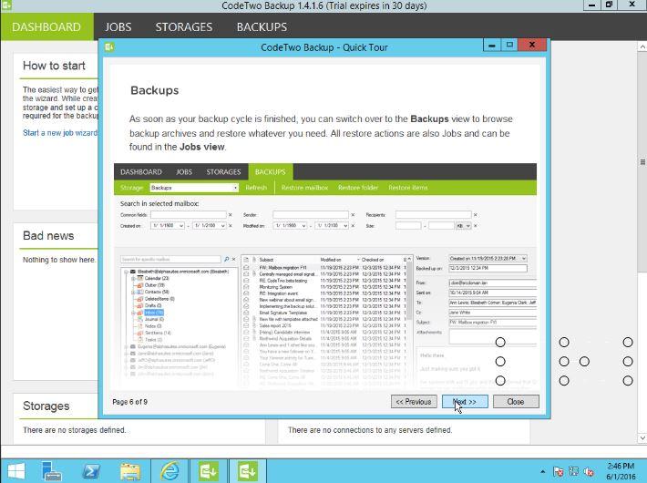 Office 365 CodeTwo Backup,Offline mailbox backup & restore solution for Office 365