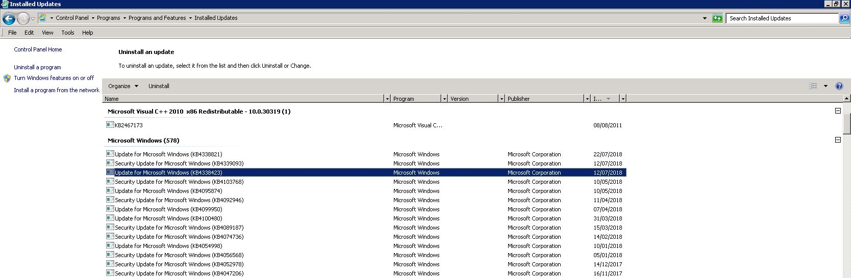 Exchange 2010 SP3 Stops Working 6 – 12 Hours Up-time