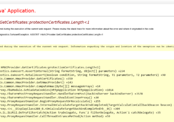 """Microsoft Exchange Server 2010/2013/2016/2019 – Unable to connect to OWA/ECP """"protectionCertificates.Length"""